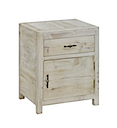 DOB023NV - BEDSIDE 1 Drawer 1 Door