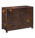 DOB025 - COMMODE 6 Drawers