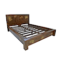 DOB61N - STANDARD BED WITH BASE MATTRESS 180x200