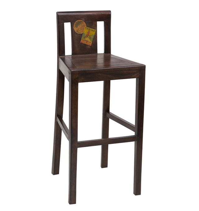 Bar Stool Docker Wood Living Room Furniture Uae Dubai Rak