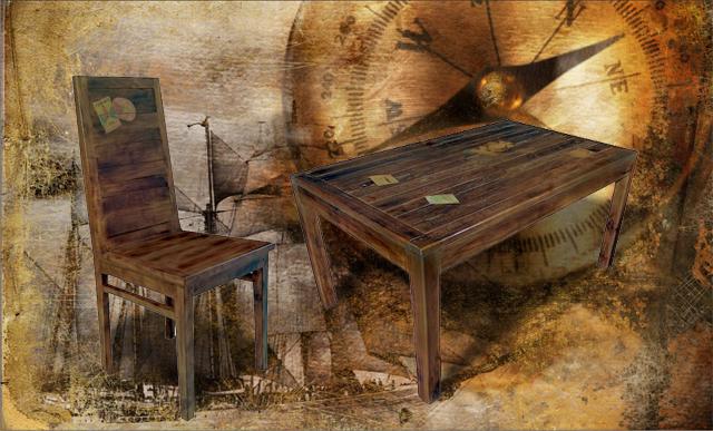 Docker Wood Dark Dining Room Furniture