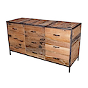 DOF203 - SIDEBOARD 2 Drawers 2 Doors (Close)