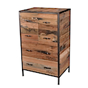 DOF215 - CHEST 2 Drawers 2 Doors