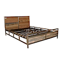 DOF227N - BED 140x190 With Base Mattress