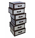DOT014 - HIGH CHEST ASYMMETRIC 6 Drawers