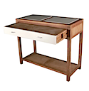 DUN04 - DESK CONSOLE 1 Drawer (Open)
