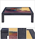 GAL214 - COFFEE TABLE ABSTRACT