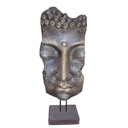 HC28 - RELIEF BUDDHA FACE ON STAND