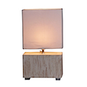 HLD03 - CHAMPAGNE LAMP SQUARE BEDSIDE