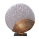 HLR40 - LAMP HALF MOON SEASHELL