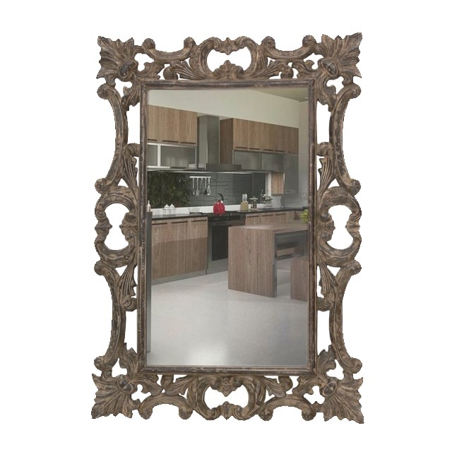 Mirror eiffel baroque mirror uae dubai rak for Miroir 80x100