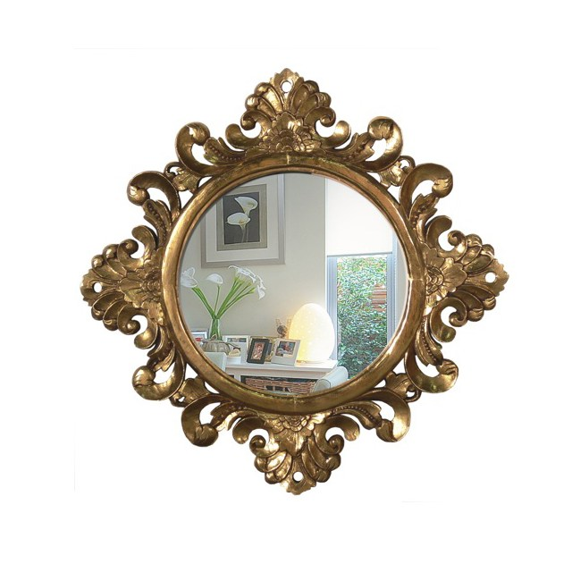 mirror round antique baroque mirror uae dubai rak