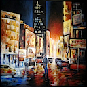 Painting on Canvas INDUSTRIAL STYLE PAINTINGS