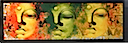 Painting on Canvas BUDDHA PAINTINGS