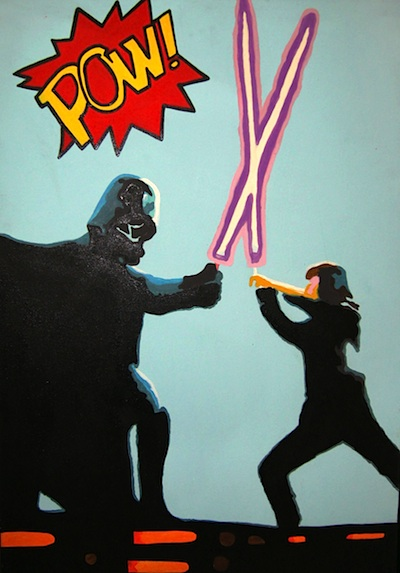 HPC389 Cartoon Star Wars 70x4x100cm