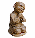 HSS27 - SITTING LITTLE SHAOLIN STATUE