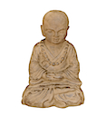 HSS46 - PRAYING SHAOLIN STATUE