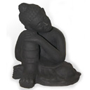 HTC01A - BUDDHA REST (Medium-Black)