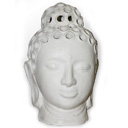HTC05B - BUDDHA HEAD (White)