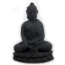 HTC06A - BUDDHA LOTUS (Black)