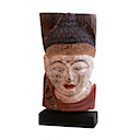 HWP011 - BUDDHA HEAD ON STAND