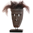HWP016 - AFRICAN MASK WITH HAIR