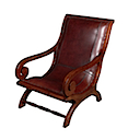 MM020 - LAZY CHAIR LEATHER SEAT