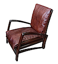 MM1243 - ARMCHAIR LEATHER SEAT
