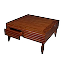 MM306 - ART DECO COFFEE TABLE 2 Drawers