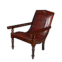 MM416 - LAZY CHAIR BUFFALO LEATHER