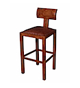 MM804 - BAR STOOL LEATHER SEAT