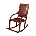 MMJ005 - ROCKING CHAIR LEATHER