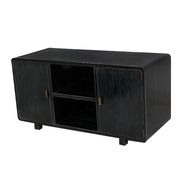 MMJ011 Slim TV Buffet 2  Doors 2 Niches