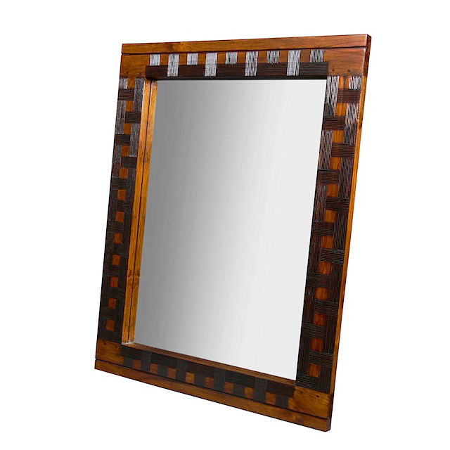Mirror nias wooden mirror uae dubai rak for Miroir 80x100