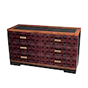 NAS103 - COMMODE 6 Drawers
