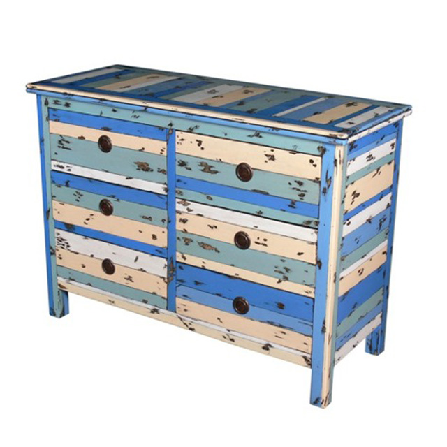 PLY14 Commode 6 Drawers
