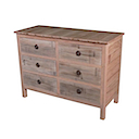 86782NV - COMMODE 6 Drawers