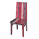 PLY22R - DINING CHAIR (ROSE)