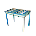 PLY24B - SMALL DESK (BLUE)
