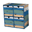 PLY28B - CD BOX 4 DRAWERS