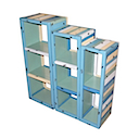 PLY32B - SHELVES SET OF 3 (BLUE)
