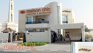 Maison Chic Showroom at Dubai.