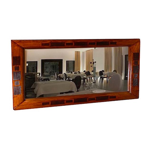 Mirror sing wooden mirror uae dubai rak for Miroir 140 x 80