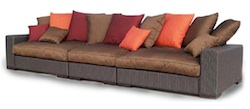 Synthetic materials sofa collection...