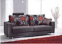 Fabric Sofa - Sofa 2 seater brown fabric