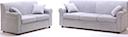 Fabric Sofa - Sofa 2 & 3 seater grey fabric