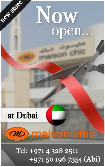 Maison Chic New Store is now open on this 3 November 2011...