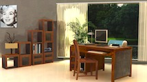 Maison Chic RAK-Dubai - Home office furniture set