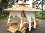 83079 - Bamboo Gazebo 250x250cm