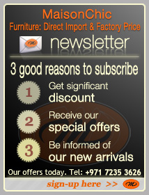 Sign-up for Maison Chic monthly newsletter...
